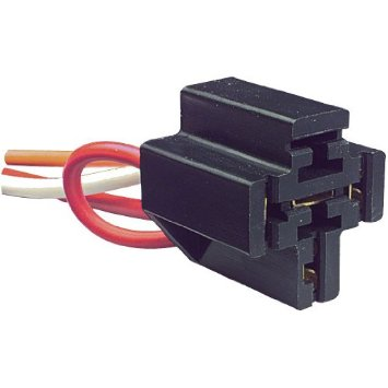 12 VDC 5-PIN RELAY SOCKET w/DIODE